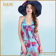 New Luxury Chiffon silk Cover up Sarong Pareo Bikini Wrap Dress for Woman free shipping