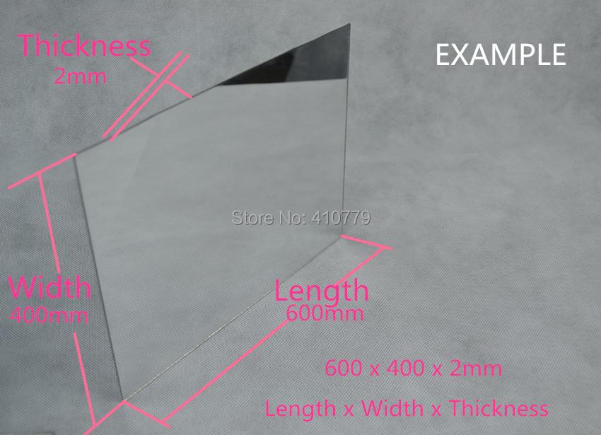 C THZ Acrylic Plexiglass Mirror (3)