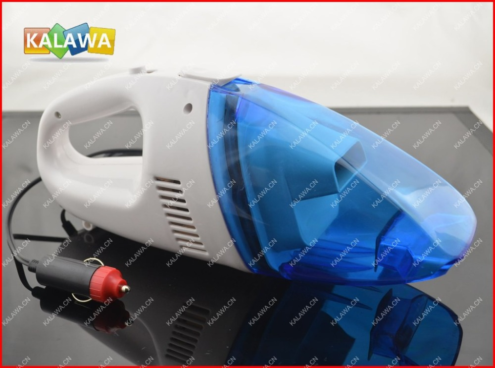 1pc High Power Mini Vacuum cleaner Portable Wet & Dry two-used Car Dust Collector DC 12 volt Bule+White FREESHIPPING GGG(China (Mainland))