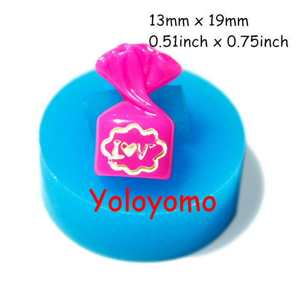 Free shipping K019YL Candy Silicone Mold Fondant Cake Decorating Tools Silicone Chocolate Mould forma de silicone Candle Molds(China (Mainland))
