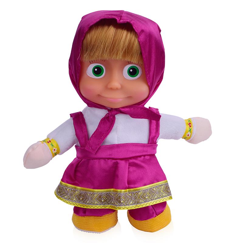 Girls Masha Electric Doll 2016 New Cartoon Russian Masha And Bear Toys Walking Singing Martha Dolls For Children Kids Toy DA110(China (Mainland))