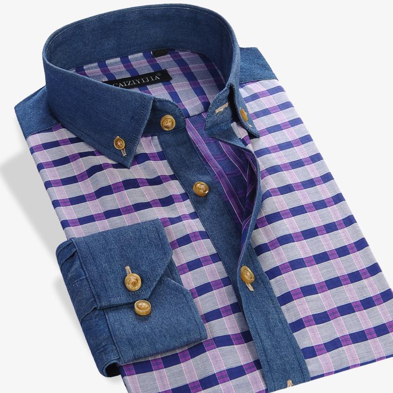 Aliexpress.com : Buy CAIZIYIJIA Fall 2016 Deep Color Plaid ...