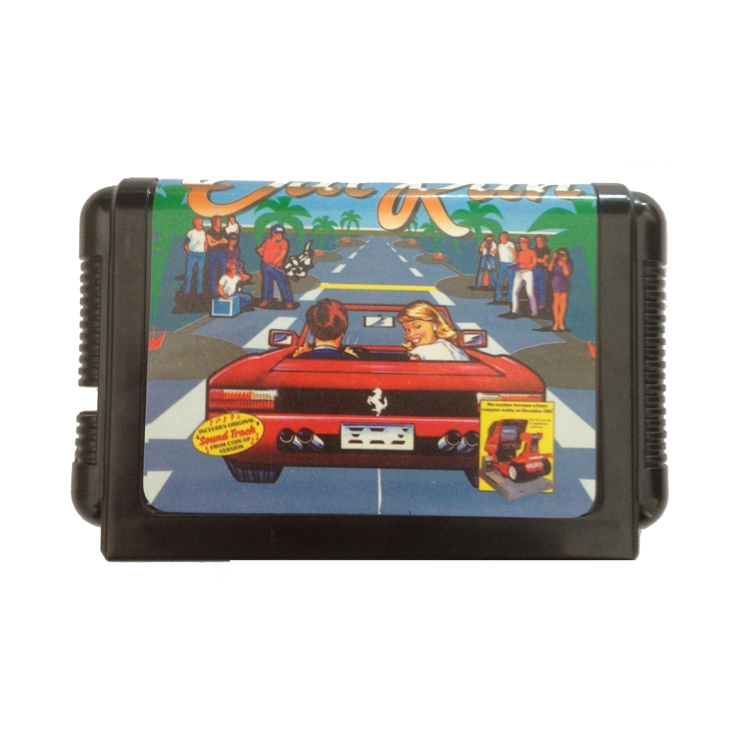 New arrival bombards 16 sega md cassette OutRun(China (Mainland))