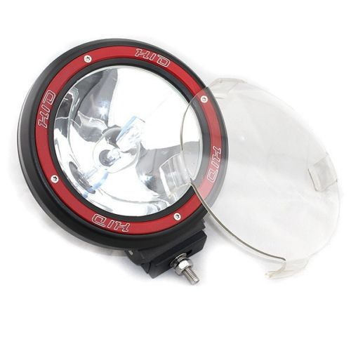 2X 7 INCH 12V55W HID SUV 4WD Off road Driving Lights Spot Euro beam combo