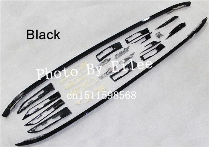Aluminium Black&Silver luggage baggage roof rack rail cross bars FOR Land Rover Range Rover Evoque 2010 2011 2012 2013 2014 2015(China (Mainland))