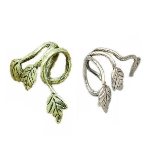 Top Selling 1PC Vintage Leaf Design Earring Ear Cuff Wrap Alloy Clip earrings for women 5NNV(China (Mainland))