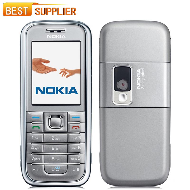 2016 Hot Sale Color Normal(>10mm) Bar Single Core Original Unlocked Nokia 6233 Mobile Phone full set Free shipping(China (Mainland))