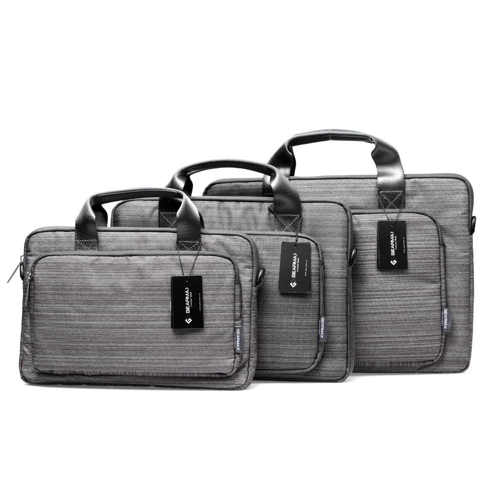 "Original GEARMAX Zipper Sleeve Carrying Handle Laptop Bag Briefcase 11"" 13"" 15"" for Macbook Pro Retina Ultrabook Notebook(China (Mainland))"