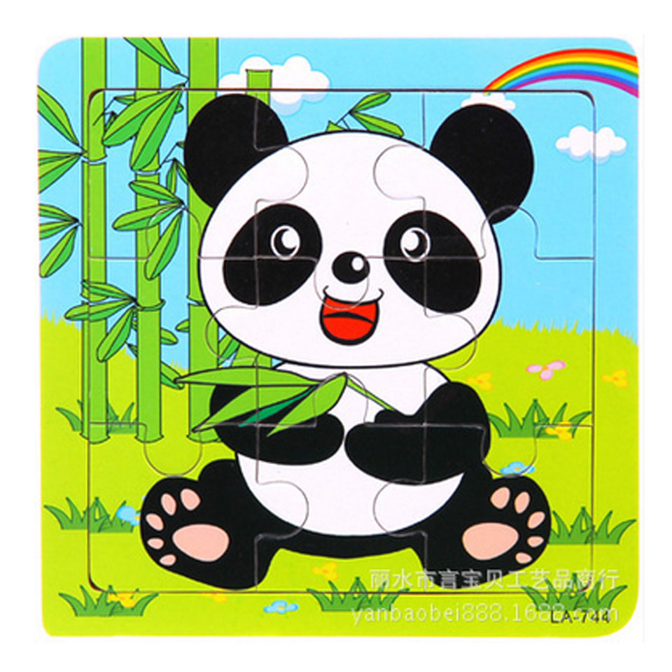 Kids Toys Puzzles Education Wooden Toys Wood Puzzles For Children House Wooden Jigsaw Puzzle 2015 New Arrivals Wholesale MBF20