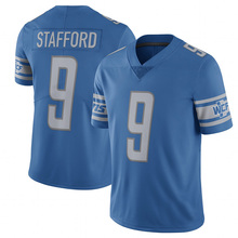 Men's 9 Matthew Stafford #20 Barry Sanders Jersey Embroidery Stitched 2017 Retired Player Color Rush Limited(China (Mainland))