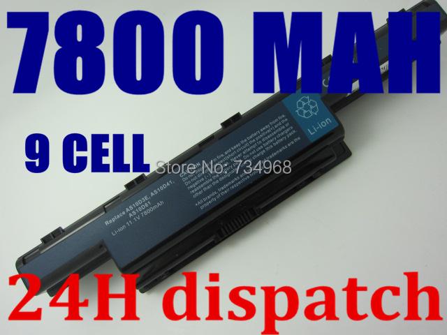 7800mAh Battery for Acer Aspire 4741 5551 5552 5551G 5560 5560G 5733 5733Z 5741G 5741 AS10D31 AS10D51 AS10D61 AS10D71 AS10D75<br><br>Aliexpress