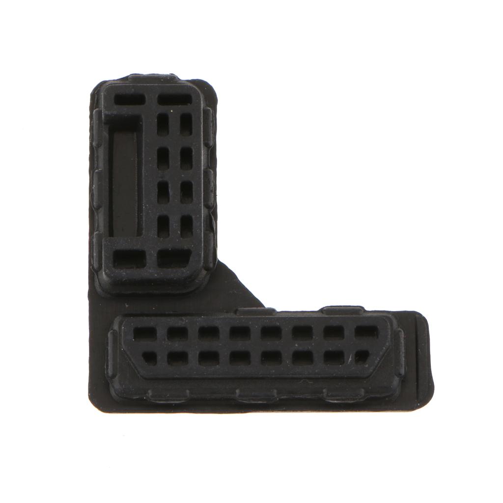 Rubber Bottom Cover Terminal Cap Replacement for Nikon D300 D300S D700 DSLR