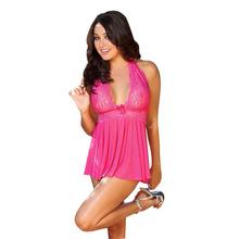 Feitong Women Sexy Lingerie Corset With G string 2 Piece Set Dress Underwear Sleepwear Plus Size