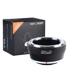 Buy K&F CONCEPT Free Adapter Ring Nikon Auto AI AIs AF Lens Fujifilm Fuji FX Mount X-Pro1 X-E1 Camera for $19.99 in AliExpress store