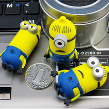 2015 new mini Pen drive Minions USB Flash Drive 64G/32G/16G/8G/4G Despicable Me Pendrive 64g Memory stick U Disk flash card