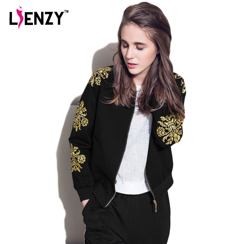 Black And Gold Jacket For Womens