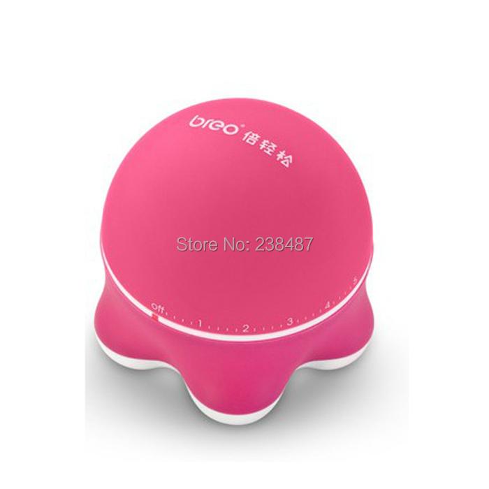 FREE SHIPPING Triangle Massage Small mini body massager Waist / neck electric shock equipment(China (Mainland))
