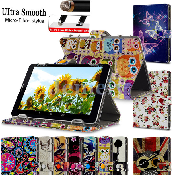 "Fashion Image Printed Flip PU Leather Stand Case For Ployer MOMO9, Universal Tablet Cases 7 inch For 7"" Tab PC(China (Mainland))"