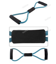 dealbox Approving Resistance Bands Tube Workout Exercise for Yoga 8 Type Practical