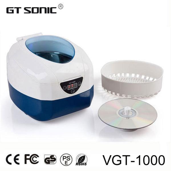750ML Ultrasonic cleaning machine 40KHz, 40W VGT-1000(China (Mainland))