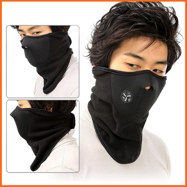 Outdoor Sports Fleece Face Mask Winter Ski Snowboard Hood Windproof Neck Warm Motorcycle Cycling Cap Hat Bicyle Thermal Scarf(China (Mainland))