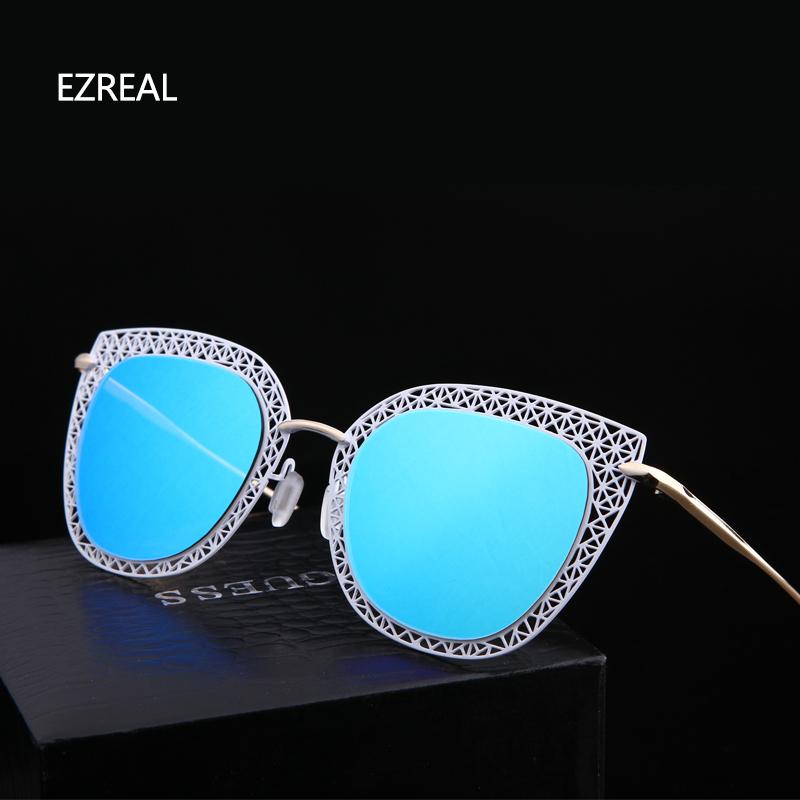 2016 EZREAL Technologic Sunglasses Women Brand Designer polarized Mirror Sun Glasses Shades woMen Sunglass Oculos De Sol(China (Mainland))