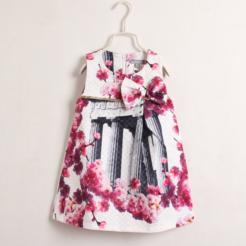2016 Fashion Baby Girl Clothes Beautiful Flower