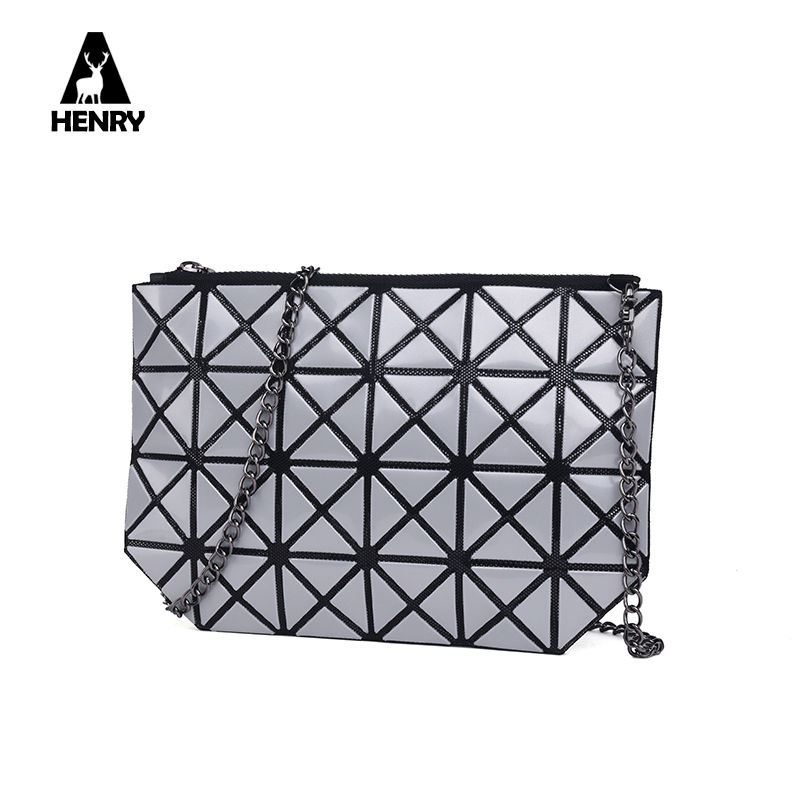 2016 Time-limited Special Offer Single Cell Phone Pocket Zipper Quilted Tote Bag Geometry Famous Brand Woman Handbags Designer(China (Mainland))