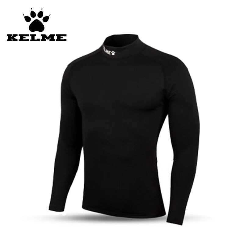 KELME New Spain Brand Compression Tights Shirt Male Gym Football Running Sports Long Sleeved T-shirt Sportswear In Stock 28(China (Mainland))