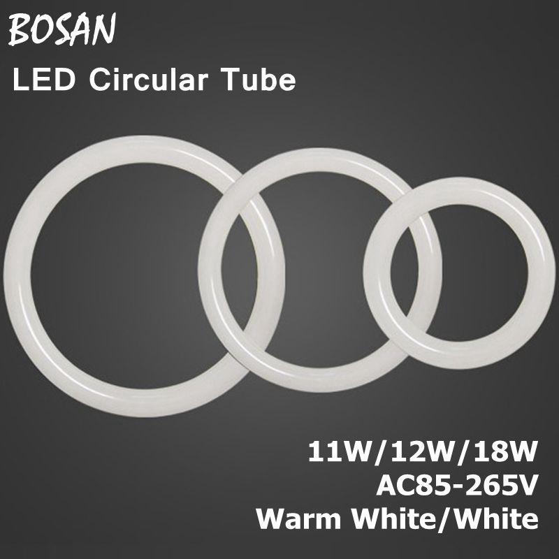 New 11W 12W 18W AC85-265V G10q SMD2835/3014 T9 LED Circular Tube LED circle Ring lamp bulb light(China (Mainland))
