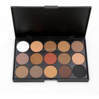 Eyeshadow Matte Makeup Palette  Powder 1 pcs 15 Colors Eye shadow Palette Full Size Net 15g Easy To Wear  E15