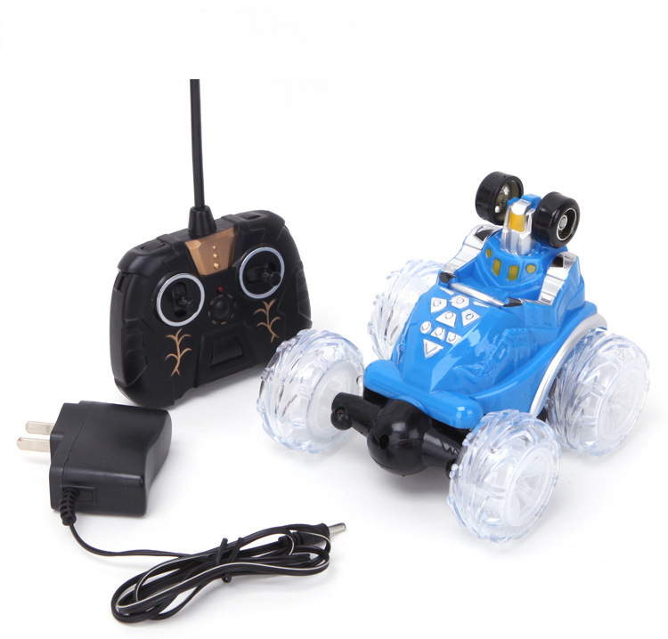 high speed Mini electric Radio Control toys rc car dump stunt car with light three music remote control car dumpers toys(China (Mainland))