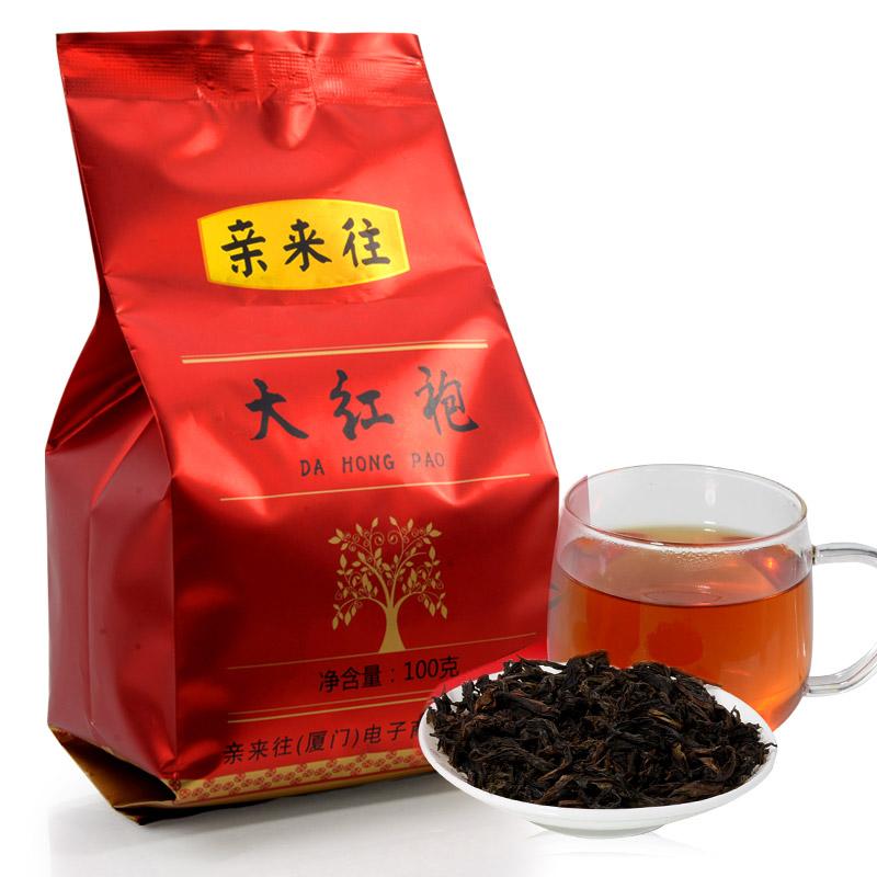 [GRANDNESS] Premium Da Hong Pao Big Red Robe Oolong Tea FUJIAN Wuyi Rock Tea top grade chinese da hong pao 100g(China (Mainland))