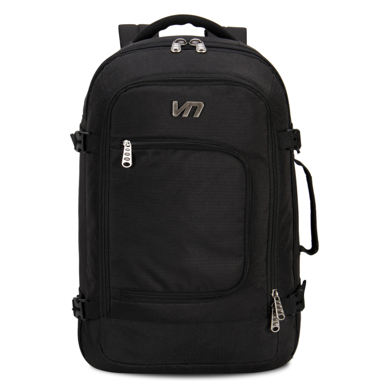 Veevan design men's travel bag men backpack polyester shoulder bag mochila computer packsack laptop bag black backpack wholesale(China (Mainland))