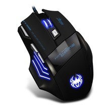 Wired Gaming Mouse  7 Buttons 7200DPI Professional Game Mice for Laptops Desktops USB Wired Computer Mouse Mice Cable.