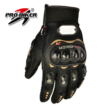 Professional Motorcycle Gloves Protect Hands Full Finger Freely Flexible Motorcycle Four Seasons guantes motorcycle