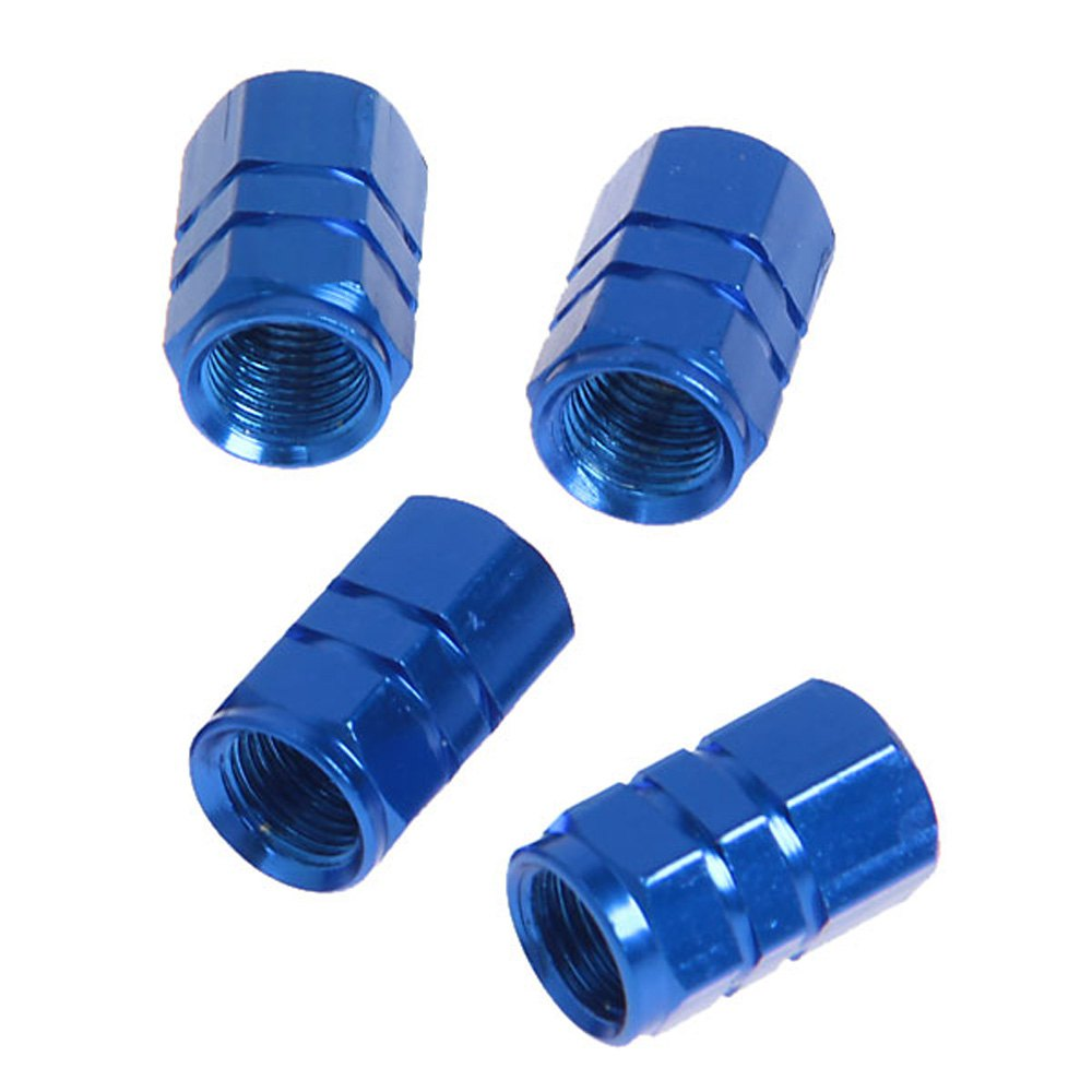4Pcs Metal Tire Valve Stem Caps for Cars Trucks Bicycles Cool And Stylish with Light Weight Easy to Install Tire Valve Caps(China (Mainland))