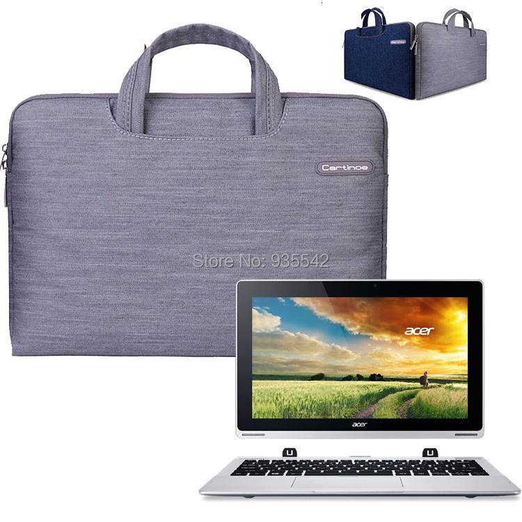 Para Acer Aspire Interruptor 11 SW5 11.6 ''Laptop Jeans Tela Asa de Transporte Funda de Neopreno Bolsa de Ordenador Portátil
