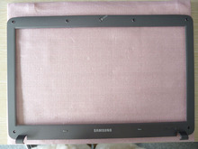 USED! FREE SHIPPING for SAMSUNG np R528 R530 R540 RV510 R525 R523  LCD Front Bezel Trim cover case GRAY  BA75-02376B(China (Mainland))