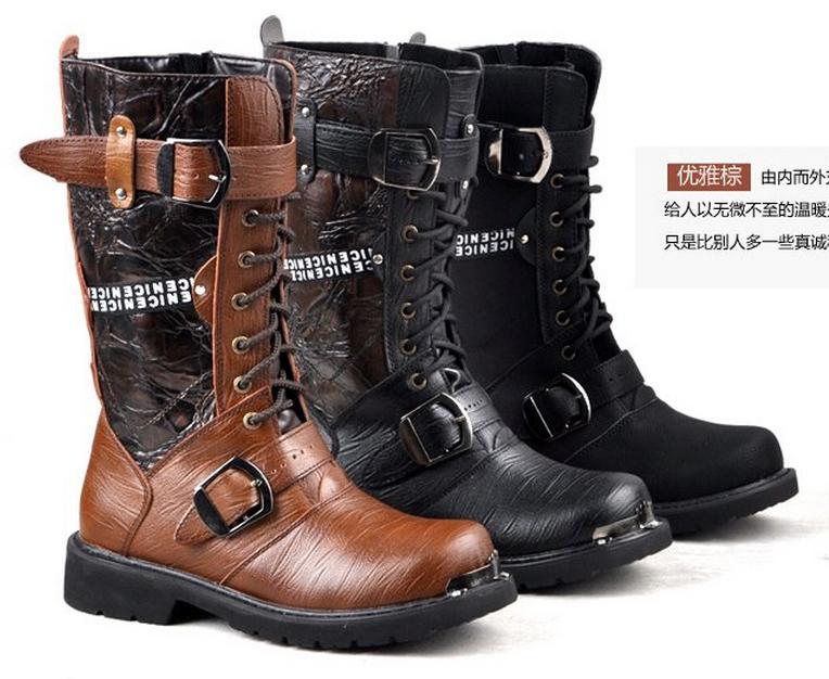 Мужские ботинки из кожи | Купить кожаные ботинки