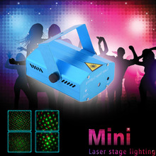 Buy Blue Mini Lazer Pointer Projector light DJ Disco Laser Stage Lighting Xmas Party Show Club Bar Pub Wedding for $13.68 in AliExpress store