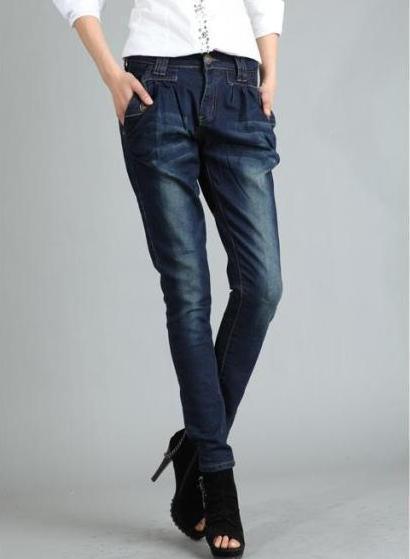 2014 Free Shipping,Brand Famous Women's Jeans,Fashion Skinny Straight,Cotton Designer Warm Denim Pants DF-69C140926