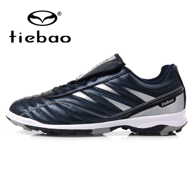TIEBAO Professional Boy Kids Soccer Sneakers High Elastic Soft PU AG Short Nails 2016 New Style Football Soccer Waterproof(China (Mainland))