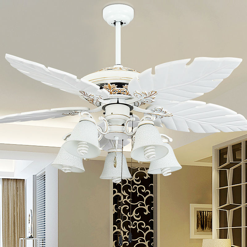 Fashion vintage ceiling fan lights style fan lamps bedroom for Bedroom ceiling fans
