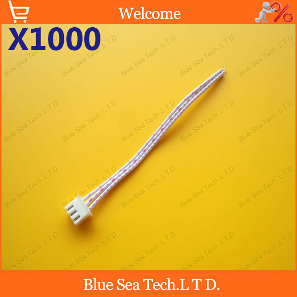 1000 pcs 3 Pin/way 2.54mm Connector XH-3P plug with 10cm cable for Electronic model / Automobile/PCB ect.Free Shipping<br><br>Aliexpress