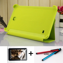 free shipping Original Business Tablet Leather Case For Samsung Galaxy Tab 4 T230 T231 T235 Stand Smart Cover Case +stylus+film