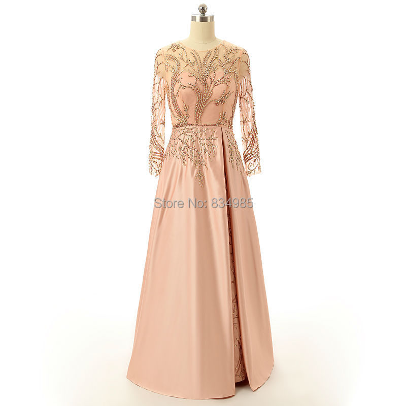 -Long-Sleeve-Formal-Evening-Dresses-Beaded-Sexy-Long-Evening-Party ...