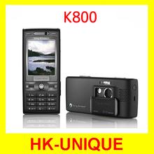 Original Sony Ericsson k800 k800i cell phones 3G 3.2MP camera bluetooth mp3 player brand mobile phones free shipping