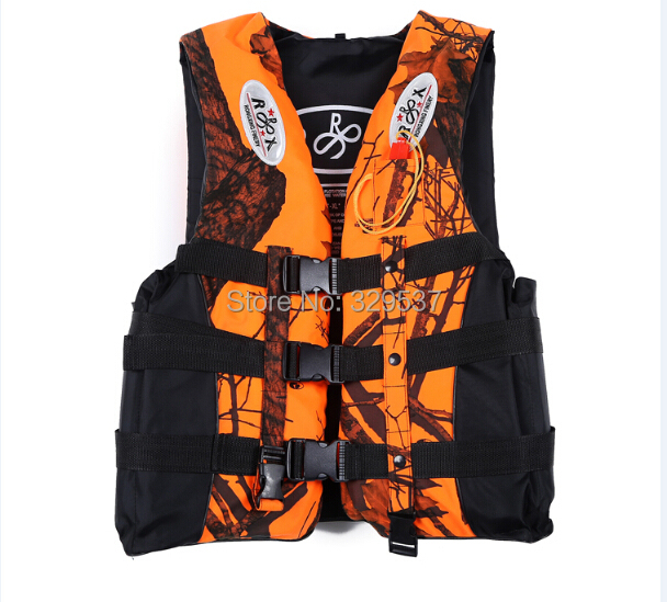 Big discount ! 4 Color Professional Life Vest Life Safety Fishing Clothes Life Jacket Water Sport Survival Suit Outdoor Swimwear(China (Mainland))