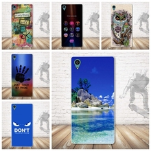 Buy Luxury 3D Pattern Back TPU Cases Soft Silicone Case Cover Sony Xperia Z3+ E6553 / Z3 Plus dual E6533 / Sony Z4 Phone Cases for $1.74 in AliExpress store